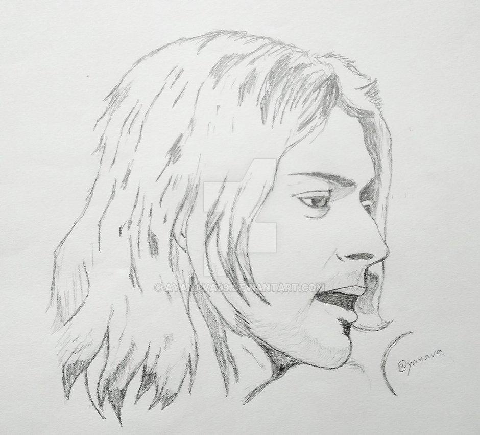 Cobain Drawing