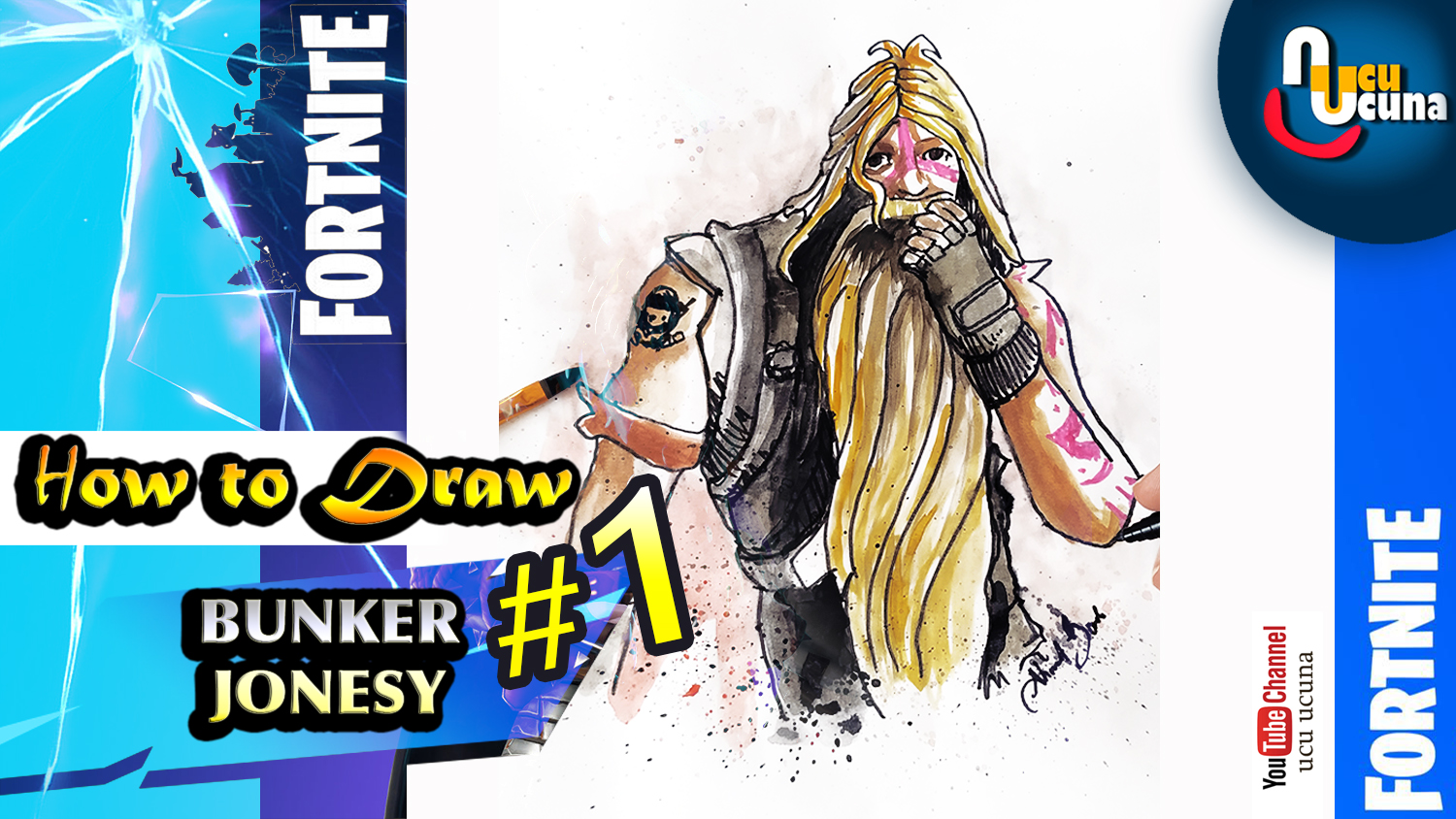 Draw Bunker Jonesy
