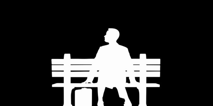 Forrest Gump Silhouette