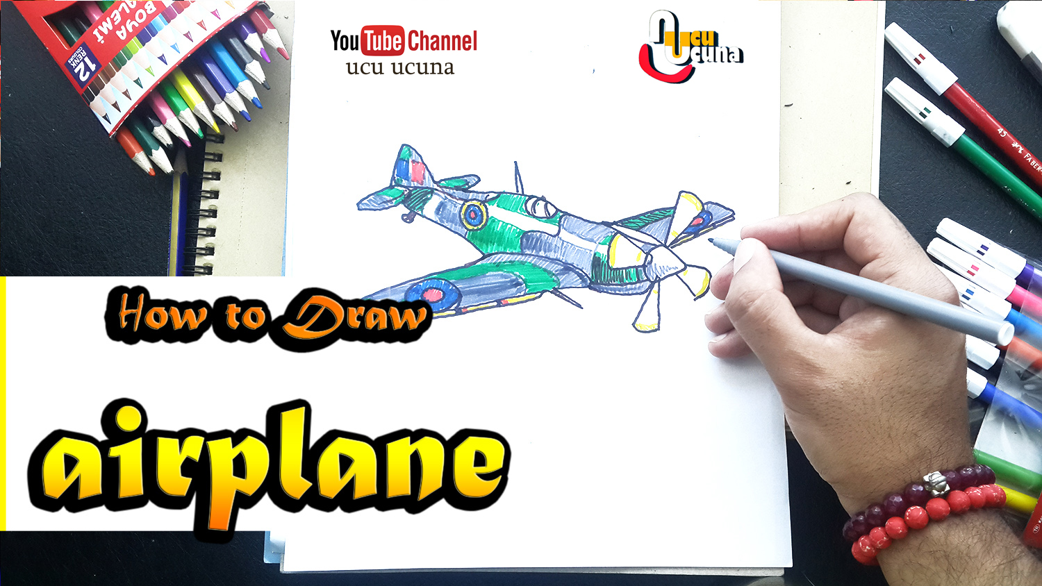 Hi everyone i ll be showing you how to draw airplane step by step Let s learn draw for  kids  art  important at my life  drow  with me i hope you like funny videos  tutorial if you like my draw you click my youtube channel ucu ucuna