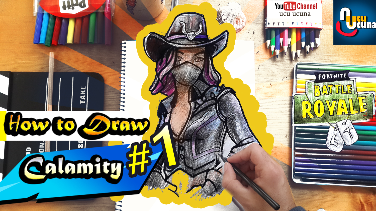 How To Draw Calamity Max Skin