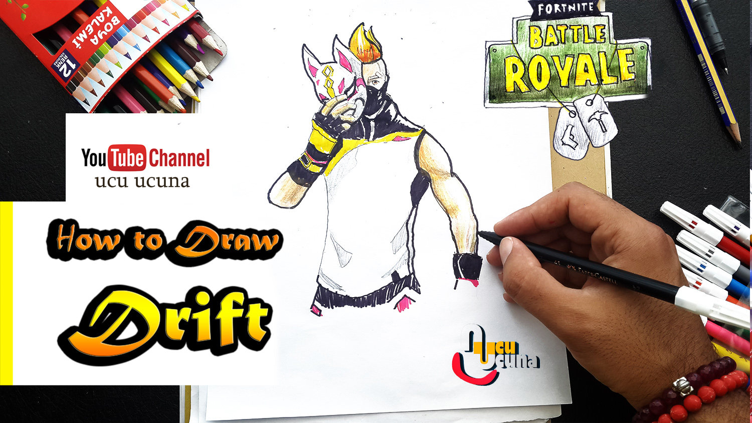 How To Draw Drift Art Tutorial