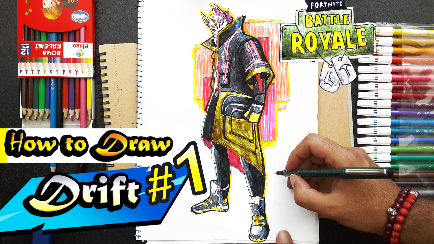 How To Draw Drift Fortnite