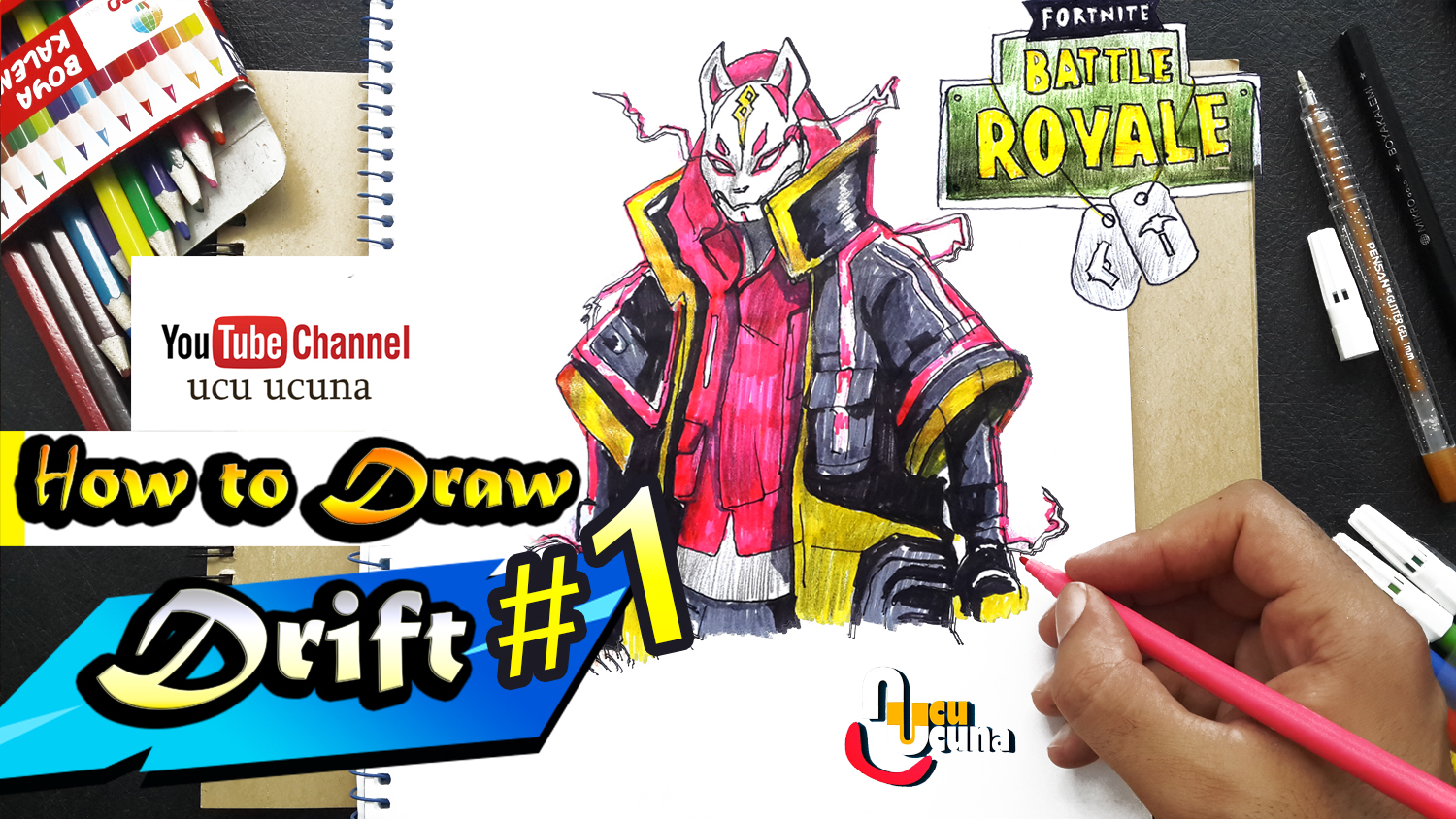 How To Draw Drift Fortnite Max Level