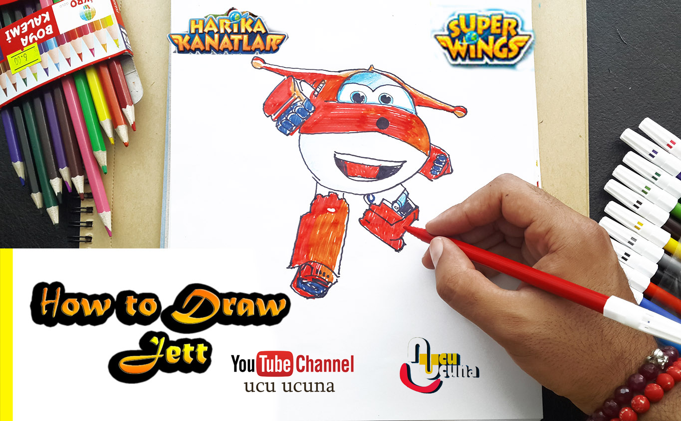How To Draw Jett Superwings