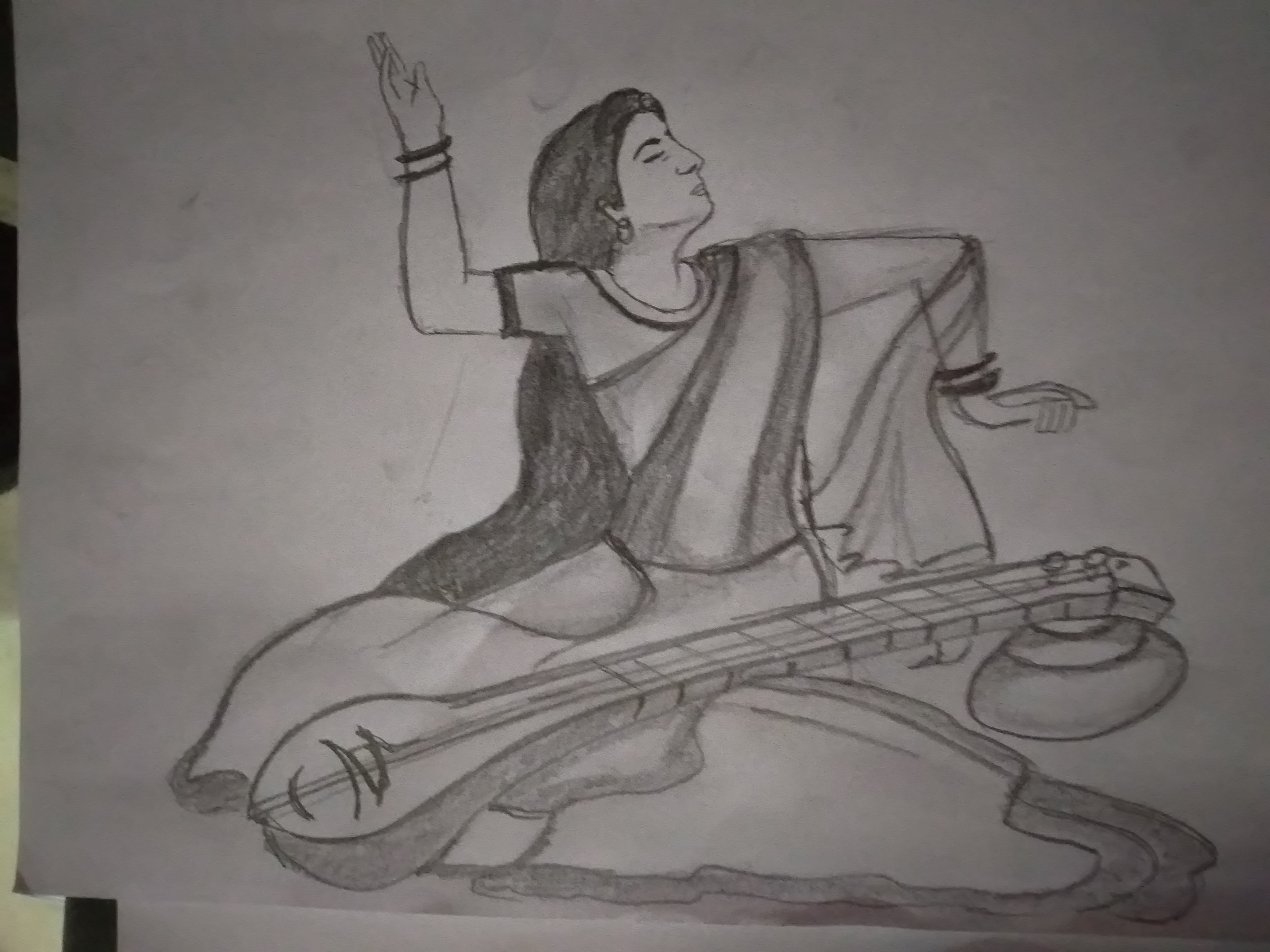 Indian Traditional Drawing