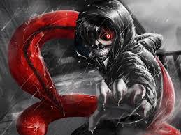 This is my online drawing of ken kaneki from tokyo ghoul hope you like it.