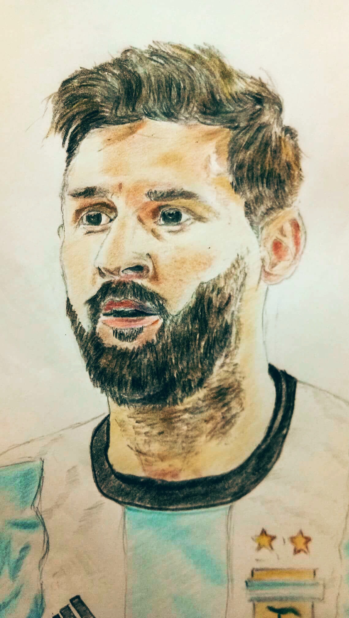 Messi Drawing