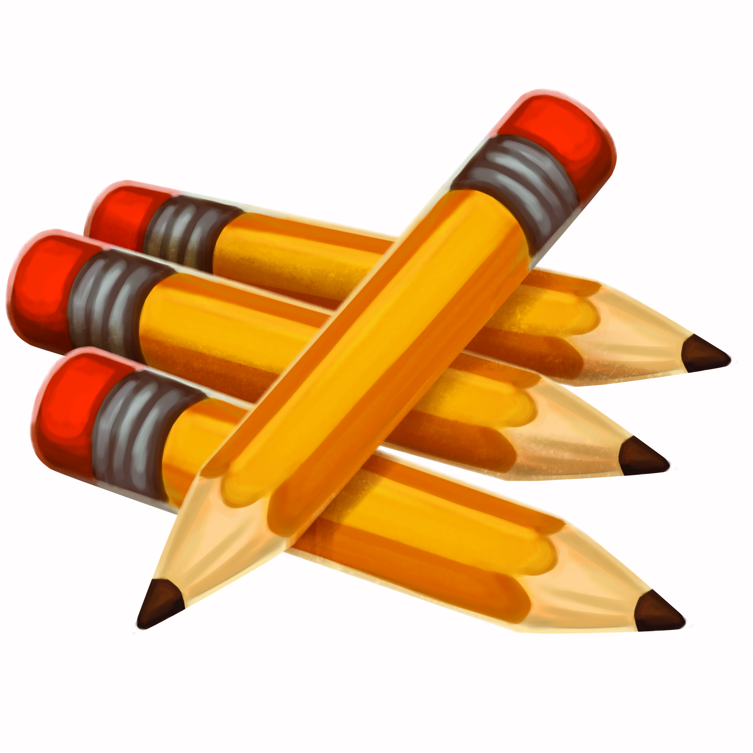 Pencil clipart vector