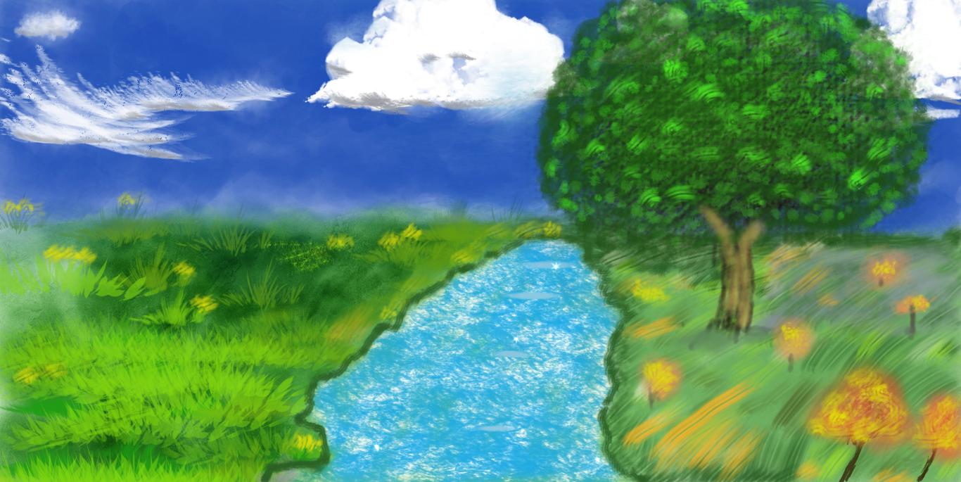 Trees My Lake