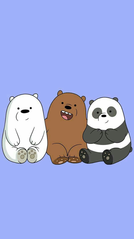 We bare bears cartoon