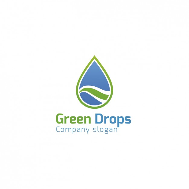 626x626 Logos. Water With Company Logo Water Company Logo Template Vector