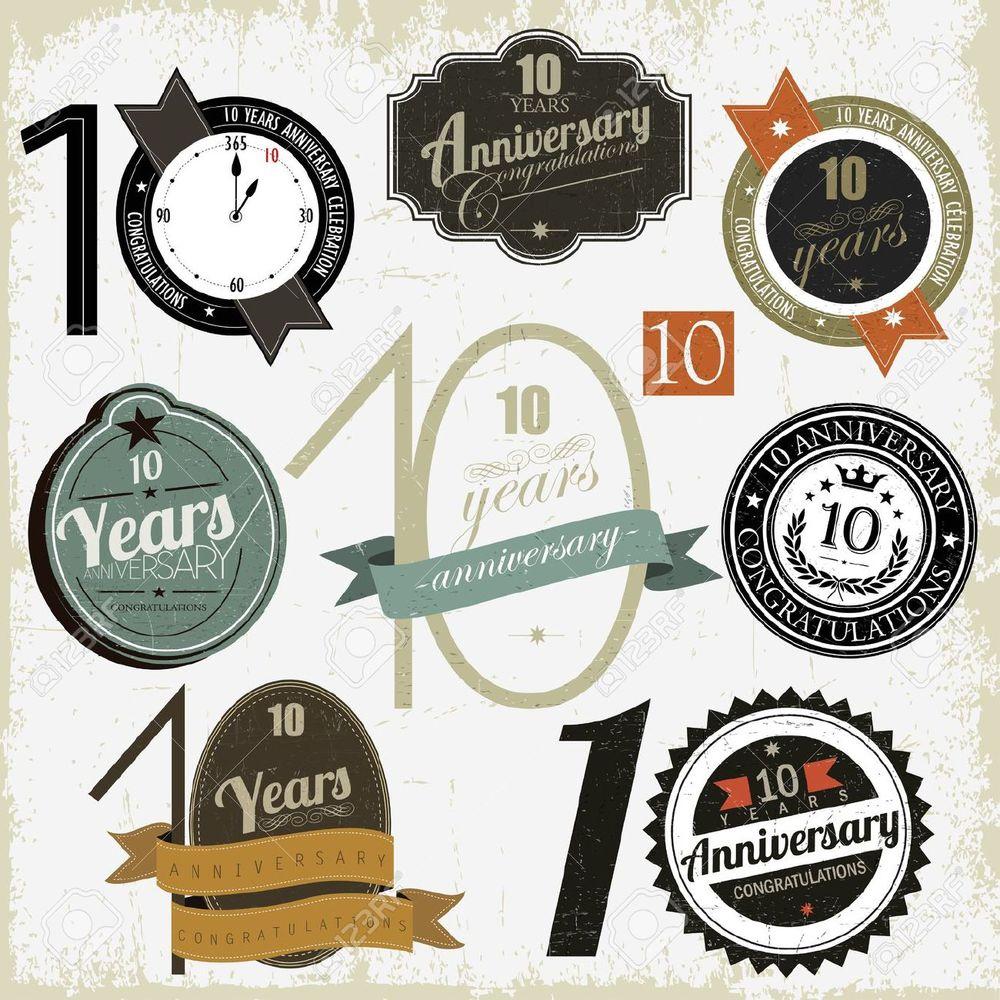 1000x1000 10 Year Anniversary Vector Bigoo