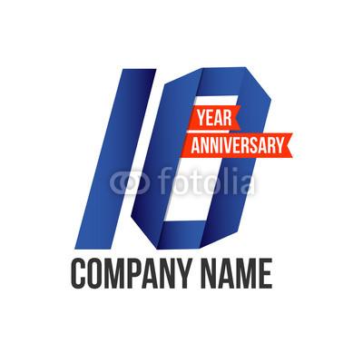 400x400 10 Year Anniversary Vector Template Design Buy Photos Ap