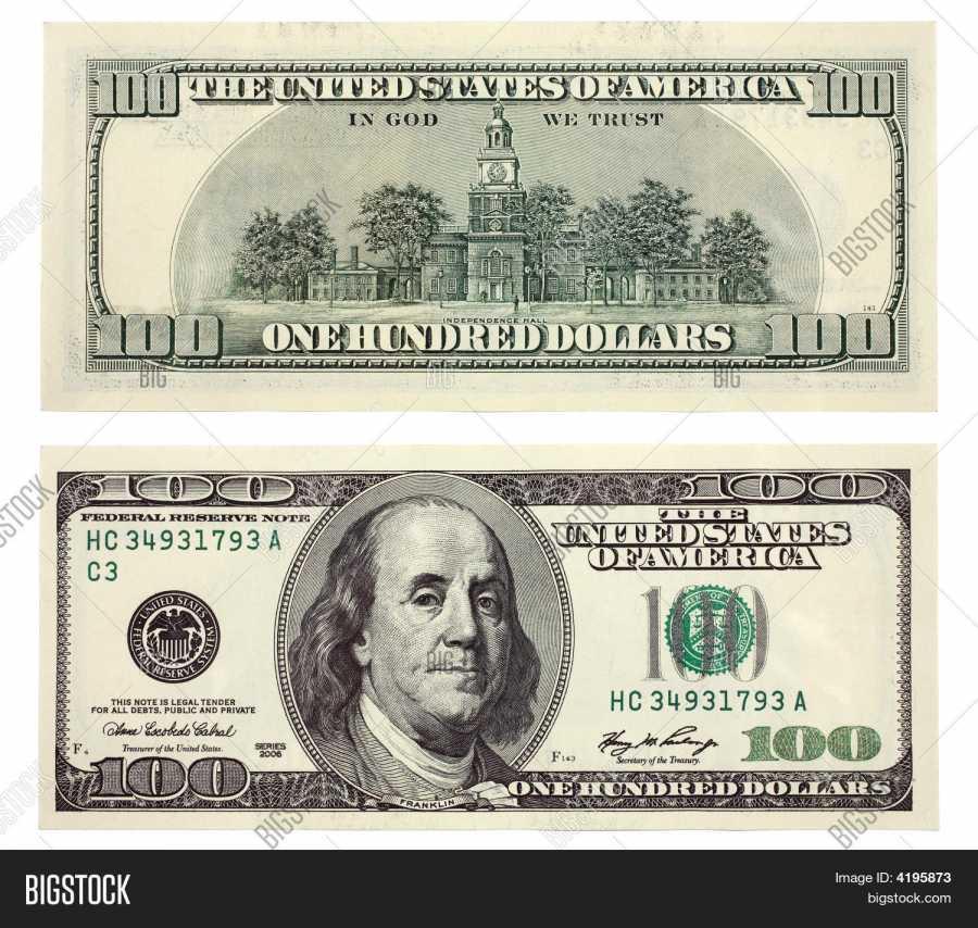 900x854 One Hundred Dollar Bill , Illustrations Amp Vectors Free