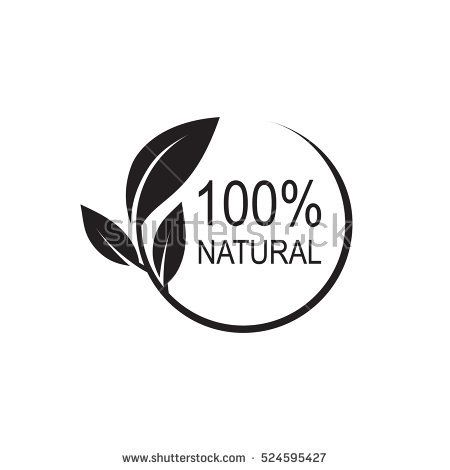 450x470 100% Natural Vector Logo Design. Icons Website