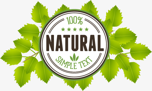 631x379 Hundred Percent Natural Icon Vector Image, Icon Vector, Natural
