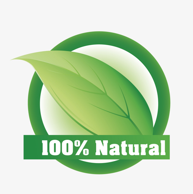 650x651 Vector 100% Natural, All Natural, Leaf, Decoration Png And Vector
