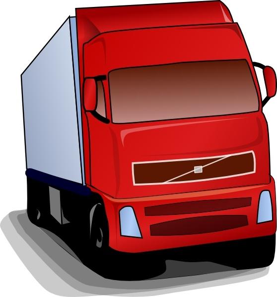 558x597 Truck 18 Wheeler Clip Art Free Vector In Open Office Drawing Svg