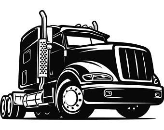 340x270 Truck Driver 8 Trucker Big Rigg 18 Wheeler Semi Tractor