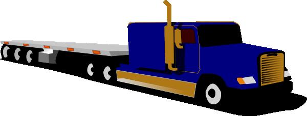 600x228 Truck Clipart 18 Wheel