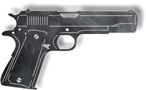 300x185 Dxf Cnc Dxf For Plasma Router Clip Art Vector Colt 1911 Man Cave