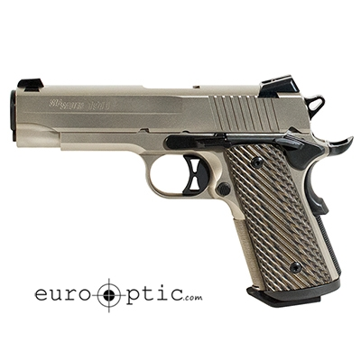 400x400 Sig Sauer 1911 Compact 45 Acp Brown Vector Grip 2 7 Rd Mags Flat