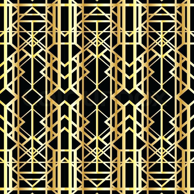 800x800 1920s Art Deco Art Geometric Pattern Style Vector 1920s Art Deco
