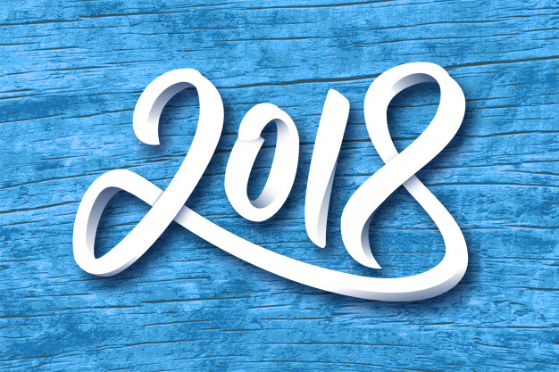 626x417 happy new year 2018 vector premium download