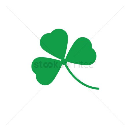 450x450 Free 3 Leaf Clover Stock Vectors Stockunlimited