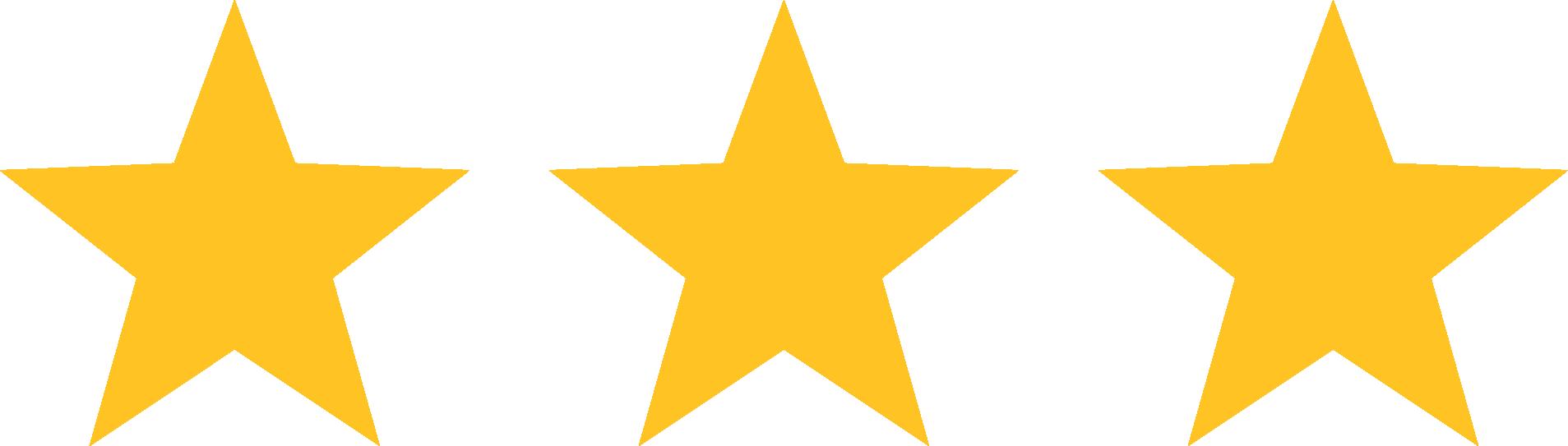 3 Star Vector