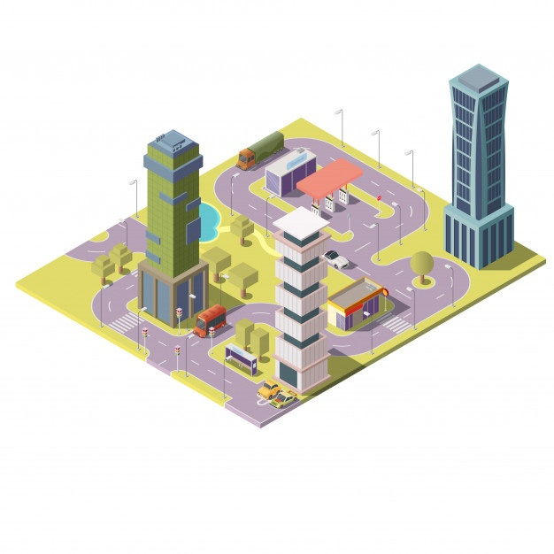 626x626 3d Buildings Vectors, Photos And Psd Files Free Download