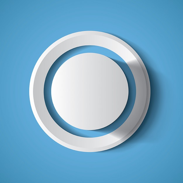 626x626 3d Circle Vector Free Download