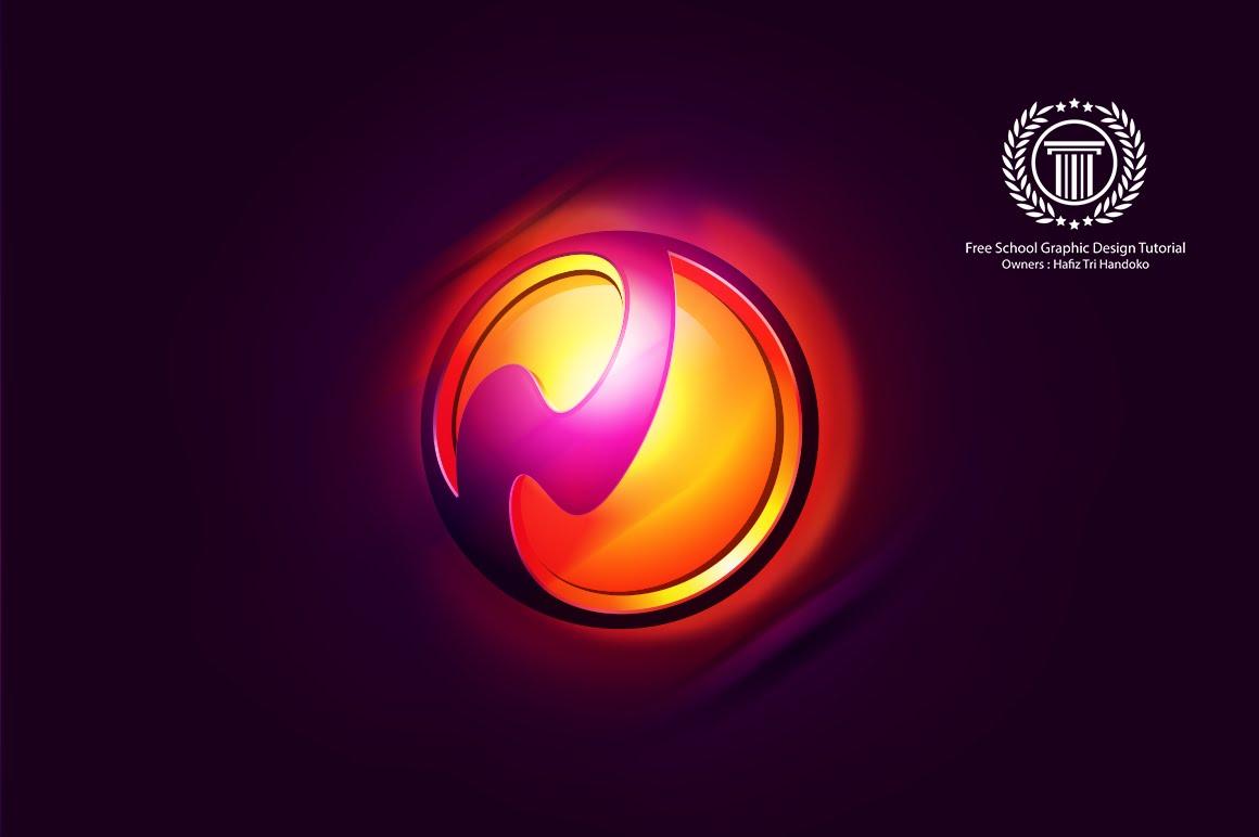 1160x772 Create 3d Vector Sphere Logo Design In Adobe Illustrator Cc