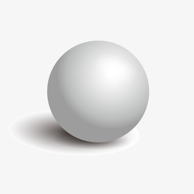 650x651 Vector 3d Sphere, Hd, Vector, Gray Ball Png And Vector For Free