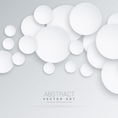 490x490 Abstract 3d Circles Background