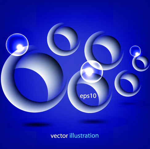 487x484 3d Circle Vector Background Vector Background Free Vector Free