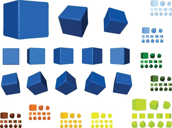 600x447 Multicolor Multiangle Cube Vector Free Vector In Encapsulated