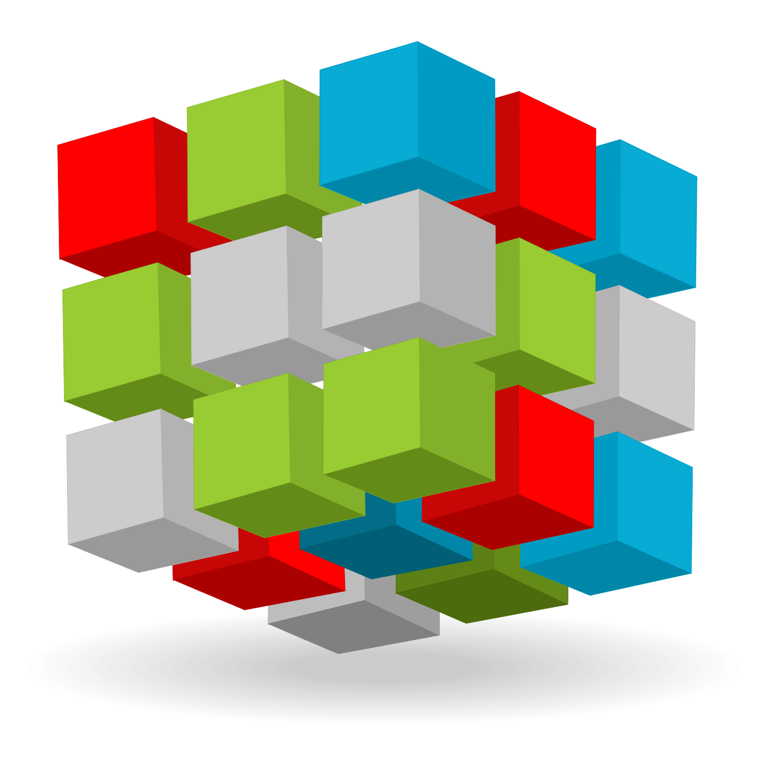 1500x1500 Vector For Free Use Abstract 3d Cubes