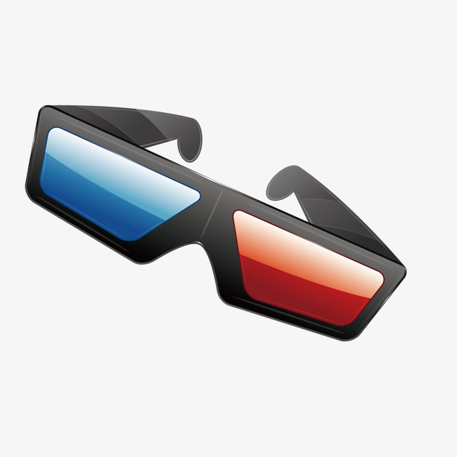 650x651 3d Glasses Vector, Glasses Vector, Dynamic, The Film Png And