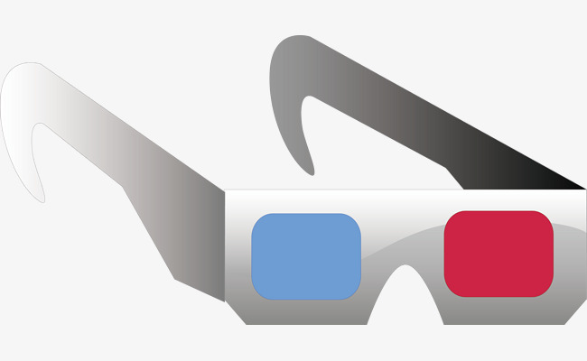 650x400 3d Glasses Vector Material, 3d Glasses, Simple, Cinema Png And