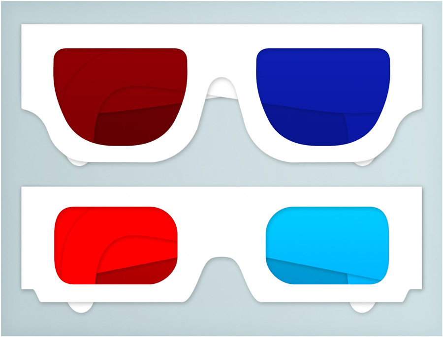 900x685 3d Glasses 3d Glasses Made In Photoshop Using Vector