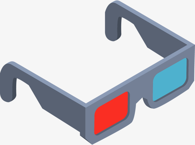 650x483 Cartoon Movie 3d Glasses, Cartoon Vector, Movie Vector, Glasses