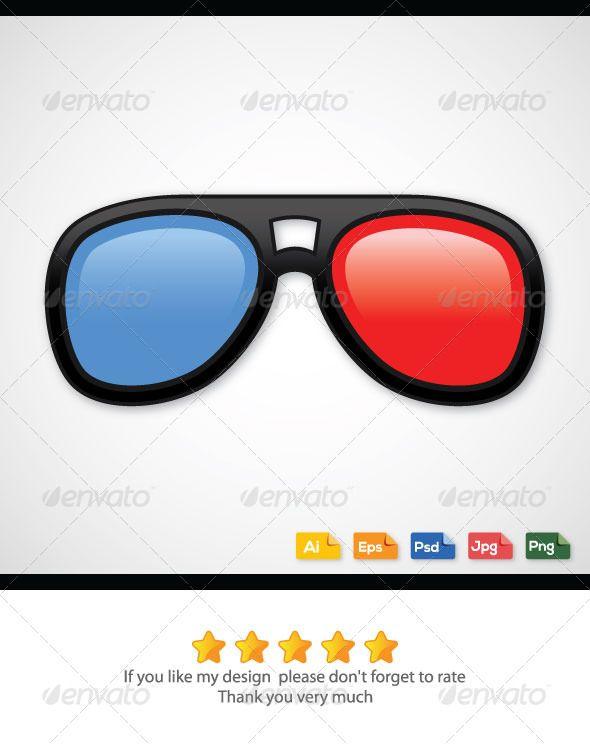 590x745 3d Glasses Apparel 3d Glasses, Vector Graphics And