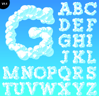 340x329 3d Alphabet Letters Free Vector Download (5,763 Free Vector) For