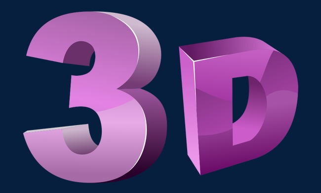 650x392 Vector,letter,3d,purple, Letter Vector, Vector, Letter Png And