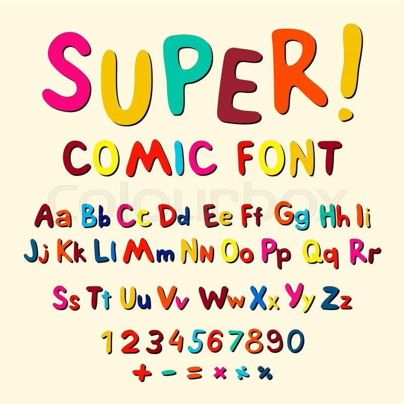 800x800 Wow. Creative High Detail Font For Your Design. The Alphabet In