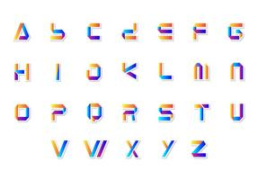 286x200 3d Letters Free Vector Art