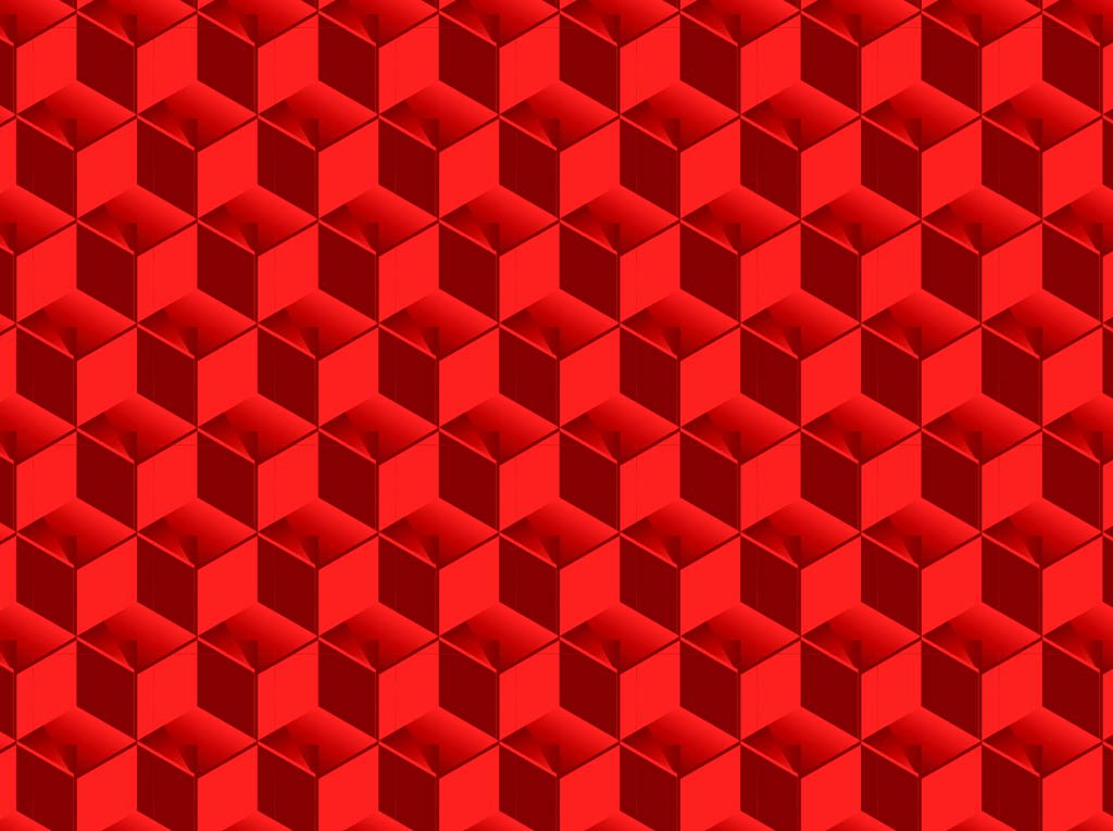 1024x765 3 D Cubes Pattern Vector Art Amp Graphics