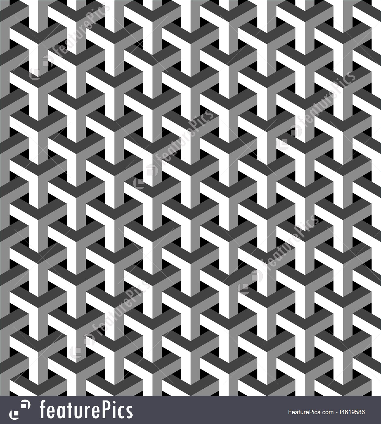 1250x1392 Abstract Patterns Abstract Isometric 3d Pattern Background